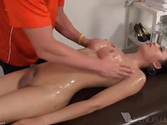 bareback, dirty, hardcore, penetration, spooning, asian, doggy-style, oil, shemale, behind, guy, rough, condom, orgasm,