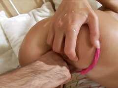 insertion, double, erotic, huge, pussy, beads, fucking
