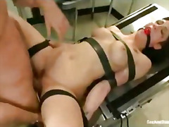 punishment, big, tits, tied, boobs, dick, screwed, busty, bound, cock