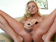 blonde, finger, solo