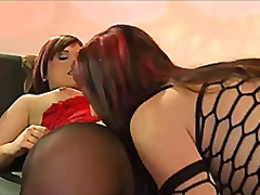 Amy and tina the cock pleasing duo