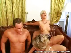 group, dildo, anal, foursome, dykes, hungarian