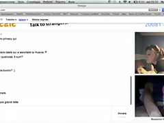 omegle, teenager, canadian, showing,