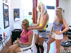Two golden haired girls lexi belle