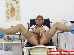 cunt, fisting, insertion, mature, shaved, uniform, boobs, bushy, cunnilingus, glasses, juicy, pussy, upskirt, natural