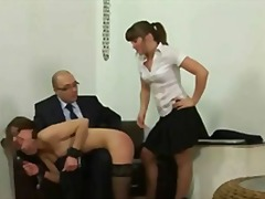 rubbing, toys, face, humiliation, secretary, spank, flashing