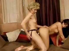 seduced, strapon, lezzy, old, grandma, mom, passion, girls, movies, lesbos, lesbian, granny