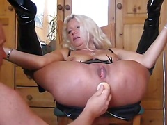 hole, german, playing, wife