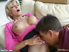 mom, boy, blonde, mature, fucking, teacher