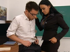 uniform, pornstar, milf, star, office