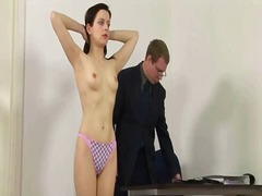 Spanked by her teacher