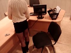 office, girls, hidden, stockings, masturbation, candid, high, heels, voyeur, spy