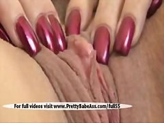 clit, big, beautiful, pussy, shaved