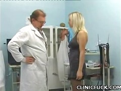 Breasty judith enjoy clinic sex