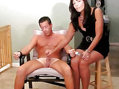 orgasm, cfnm, female, handjob, jilling, post, control, denial, cock, torture, clothed, male, naked