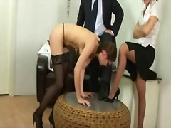 secretary, discipline, spanking, humiliation, fetish, kinky, punishment, toy