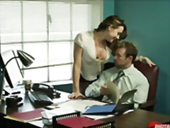 milf, secretary, work, hardcore, skirt, big ass, orgasm, brunette, wife, uniform, squirting, oral, office,