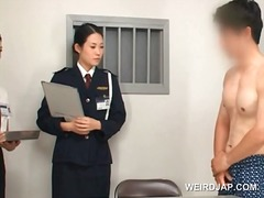group, japanese, hardcore, fetish, uniform, hairy