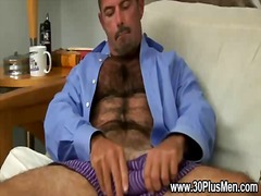 bear, masturbation, gay, wanking, solo