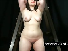 Bondage spanking and pain for sub slut sandy