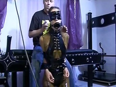posing, mask, slave, cam, chick, spanking, latex, tied, bdsm