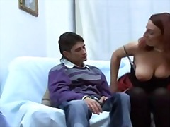 horny, mature, italian, young, mom