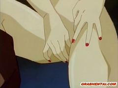 animation, orgy, hentai, tied, chained, group, monster, bondage, cock