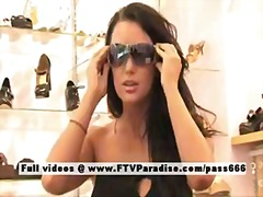 Devaun from ftv girlsstunning brunette flashing