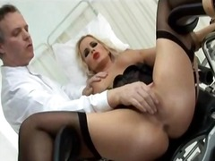 Cindy dollar ass was aching and in need of some medical attention