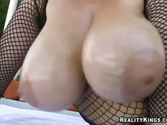 tits, outdoor, billy glide, big boobs