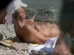 public, amateur, nudist, voyeur, nudism, outdoor, beach