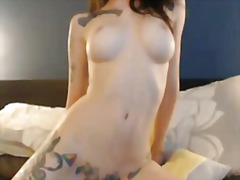 emo, speelding, hard, bj, tatoo, kamera, amateur