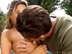 Lucky biker fucks tanner mayes and stephanie sage
