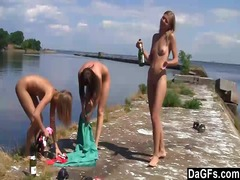kissing, clit, lesbos, pussy, video, lezzy, clean, swollen, lick, outdoors, lesbian, movies, girls