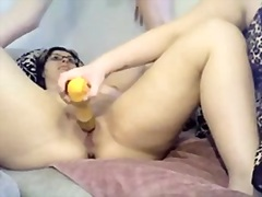 3saam, bad, bed, nat, bunette, deepthroat, eks-gf
