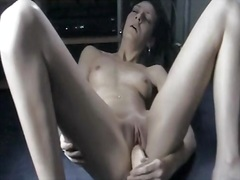 My lovely girl and a plastic dick