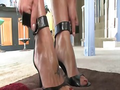 Brenda James, femdom, domination, brenda james, strap