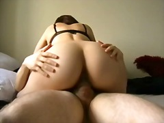 Great meaty ass babe gets fucked pov