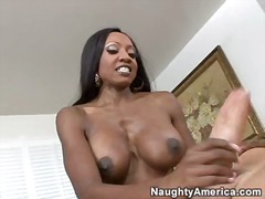 big, milf, ebony, tits, natural, riding