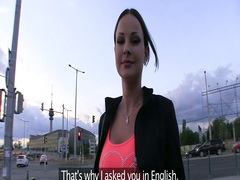 real, hungarian, hotel, gorgeous, another, scene, car, babe