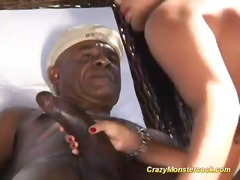 monster, huge, mixed, brazil, big, black, cock, interracial