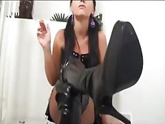 latex, boots, girls, solo