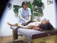mature, japanese, masseuse, oriental, gets