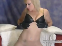 fetish, stockings, ass, shaved, upskirts, skinny, blonde, babe, leather, nylons, booty