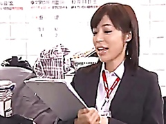 Casual/ignored sex fetishism - japanese girl fucked at work
