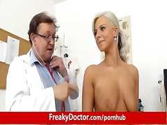 reality, hospital, gyno, europeans, speculum, doctor, ass, gaping, blonde, skinny, fetish, uniform, strip