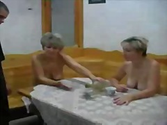 pussy, lick, threesome, russian, treesome, oral, mom