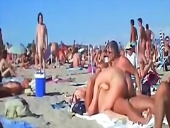 public, beach, amazing, couple, more, swingers