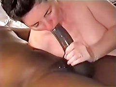 banyuts, oral, interracial, increïble, mestresses de casa