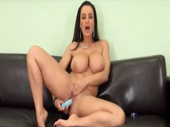 Lisa Ann, milf, masturbation, lisa ann, big, dildo, tits
